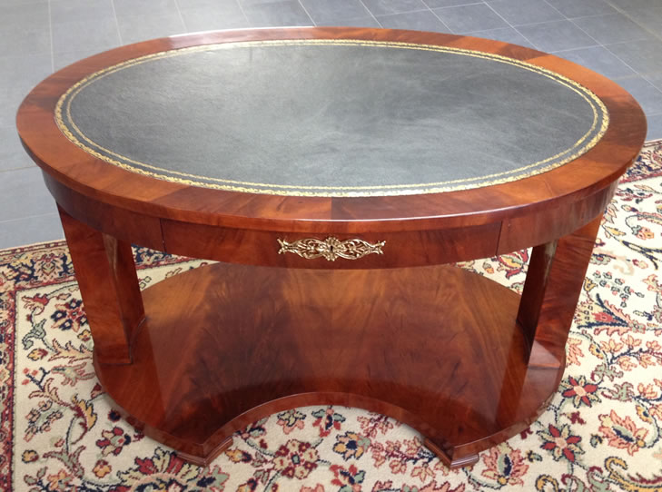 Empire Style oval desk