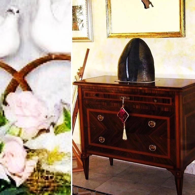 M i a mobili intarsiati artistici novit ed eventi for Mobili in regalo a milano